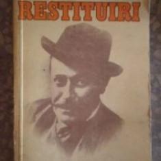 Ion Luca Caragiale - Restituiri