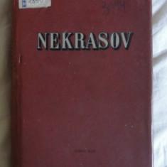 N A Nekrasov Opere alese volumul II trad. de M. R. Paraschivescu Ed. Cartea Rusa 1957 - Roman