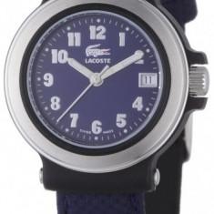 Lacoste L4000L28 ceas dama, 100% veritabil. Garantie.In stoc - Livrare rapida., Otel, Material textil, Analog