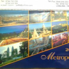 Calendar metropole anul 2007 color foto de colectie hobby - Calendar colectie