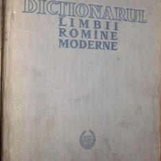 DICTIONARUL LIMBII ROMANE MODERNE -- 1958 ; 50.ooo cuvinte; 961 p. - Dictionar ilustrat