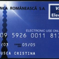 Card Banca Romaneasca, Visa