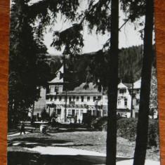carte postala RPR BORSEC  - CIRCULATA 1967