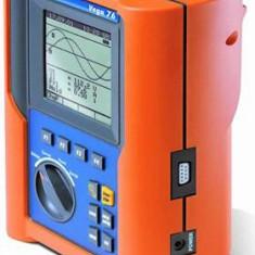 HT Italia VEGA 76 - Recorder pentru analiza calităţii energiei electrice în conformitate cu standardul EN 50160