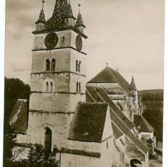 1938 - Alba, SEBES ALBA, Evangelical Church - old postcard - used - 1931