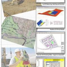 Program N4ce pentru procesare date statie totala si GPS - Aplicatie PC