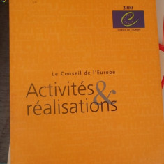 CARTE IN FRANCEZA-ACTIVITES &REALISATIONS