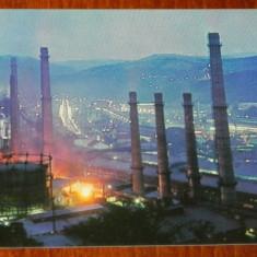 Judetul CARAS-SEVERIN. RESITA VEDERE NOCTURNA, NECIRCULATA - Carti Postale Romania dupa 1918