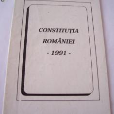 CONSTITUTIA ROMANIEI ANUL 1991