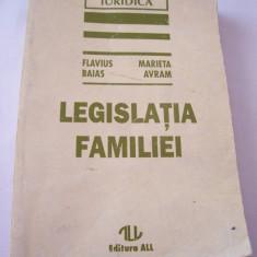 LEGISLATIA FAMILIEI - Carte Dreptul familiei
