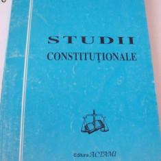 STUDII CONSTITUTIONALE -  Ioan Muraru