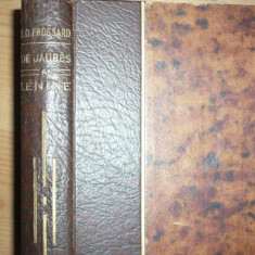 Lenin, Frossard, carte in franceza