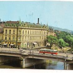 Carte postala- ORADEA-Vedere peste Crisul repede - Carte Postala Crisana dupa 1918