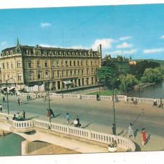 Carte postala- ORADEA-Pod peste Cris - Carte Postala Crisana dupa 1918