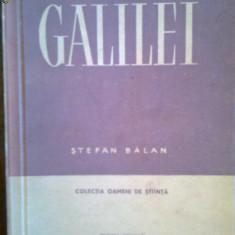Galileo Galilei-Stefan Balan - Istorie