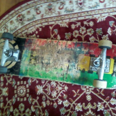 Skate Element Rasta Remix,, FOR LIFE,, - Skateboard
