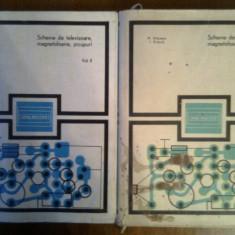 Scheme de televizoare,magnetofoane,picupuri I-II-M.Silisteanu,I.Presura