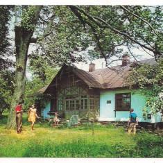 Carte postala- FALTICENI-Casa in care alocuit M. Sadoveanu
