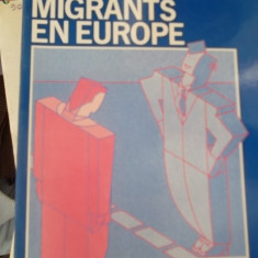 CARTE IN FRANCEZA-LES MIGRANTS EN EUROPE