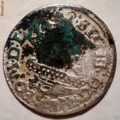 D.107 LITUANIA SIGISMUND III VASA 1 GROSZ 1625 ARGINT 0, 91g - Moneda Medievala, Europa