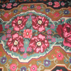 Covor Moldovenesc din lana - Covor vechi