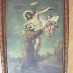 ICOANA VECHE, JESUS   NAZARET,protejata de geam de sticla