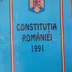 CONSTITUTIA ROMANIEI 1991 - Carte Drept constitutional