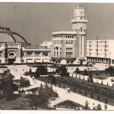 Carte postala(ilustrata)-PLOIESTI-Halele centrale - Carte Postala Muntenia dupa 1918
