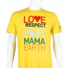 tricou Puma 739020, ORIGINAL, bumbac, galben, marimi: S, M, L