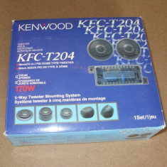 KENWOOD KFC-T204 TWEETERS - Boxa auto Kenwood, 161-200W