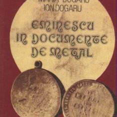 Bnk mdl Maria si Ion Dogaru - Eminescu in documente de metal - Medalii Romania