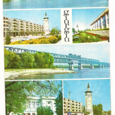Carte postala(ilustrata)-GIURGIU - Carte Postala Muntenia dupa 1918