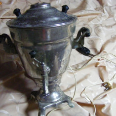 SAMOVAR ,Foarte vechi-inox-URSS-Rusesc,TRANSPORT GRATUIT,Poza reala