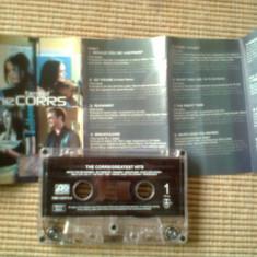 Corrs best of caseta audio muzica pop rock greatest hits, Casete audio