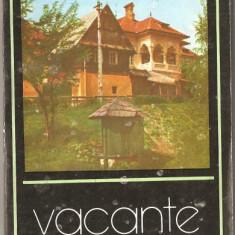 (C1153) VACANTE LA SALISTE DE DUMITRU TITU MOGA, EDITURA SPORT - TURISM, BUCURESTI, 1982