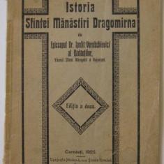 Manastirea Dragomirna,Suceava,monografie, Cernauti, 1925 (raritate,multe ilustratii de epoca)