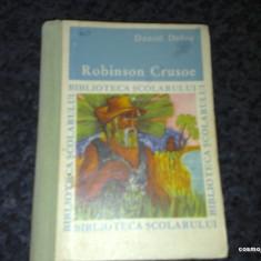 Robinson Crusoe - Daniel Defoe - ed. tineretului 1969 - cartonata - Carte educativa