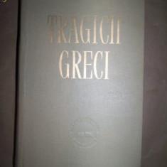 Tragici greci 8 piese de teatru editie cartonata Antigona Aias Oedip rege - Roman, Anul publicarii: 1958