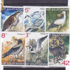 Fauna pasari Bulgaria., Europa
