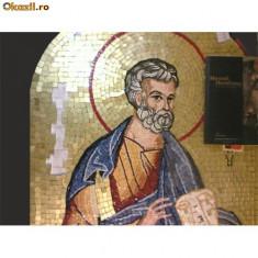 Mozaic - Sfantul Petru - Icoana cu foita de aur