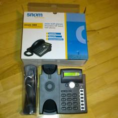 Telefon voip ip sip SNOM 300 + GRATIS nr fix de Romania oriunde in lume!!!