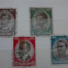 Timbre germania reich 1934 mi 540-543 stampilata