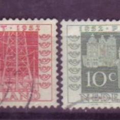 1952 Olanda Mi. 593-596 stampilate - Timbre straine