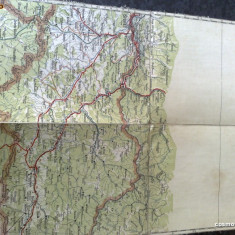 Harta Turing Clubul Roman - interbelica - nr 6 - sighet