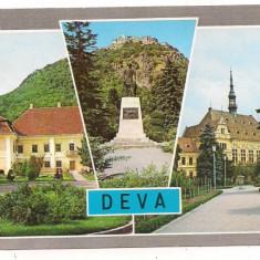 Carte postala(ilustrata)-DEVA-colaj