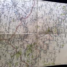 Harta Turing Clubul Roman - interbelica - nr 10 - Soroca, Balti