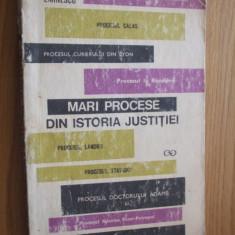 YOLANDA EMINESCU -- Din Marile Procese din Istoria Justitiei  [ 1971, cu 259 pag, ], Alta editura