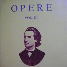 M. Eminescu - Opere - vol. III ( editia Perpessicius ) - 1994