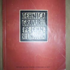 Tehnica gravurii pe lemn si linoleum-I.Pavlov,M.Matorin