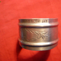 Inel de Prosop pt. Botez - Argint marcat ,  16,5 g